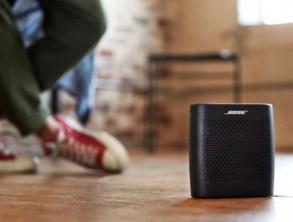 Nine Essentials for Holiday Entertaining from HH Gregg: Bose SoundLink Black Bluetooth Speaker