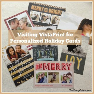 Visiting VistaPrint for Personalized Holiday Card & Printing Needs