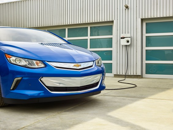 Charging the 2016 Chevy Volt