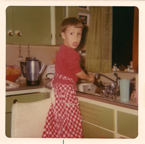 Lyle Doing Dishes from Homini on Flickr