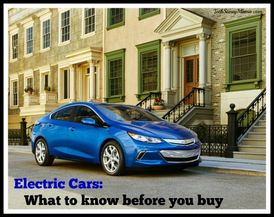 Electric Cars What to know before you buy