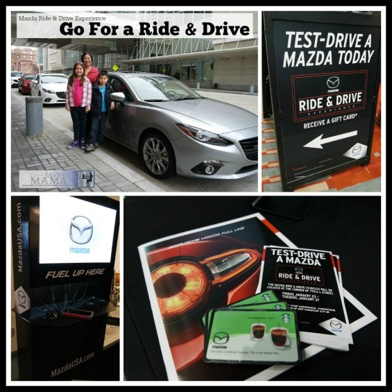 Attend an Auto Show to Go for a Ride and Drive- Mazda Ride & Drive Experience