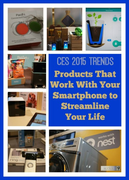 Products That Work With Your Smartphone to Streamline Your Life from CES 2015