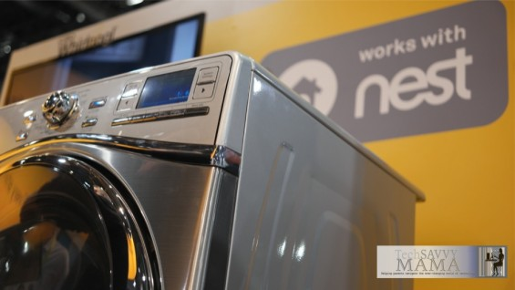 Whirlpool® and Nest Smart Top Load Washer and Dryer