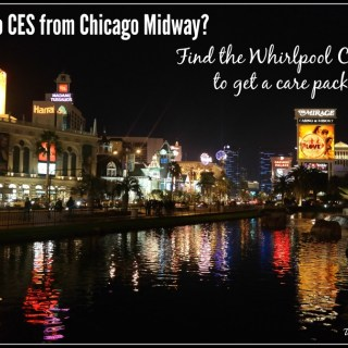 Coming to CES from Chicago's Midway airport? Look for the Whirlpool Care Kiosk for #EveryDayCare