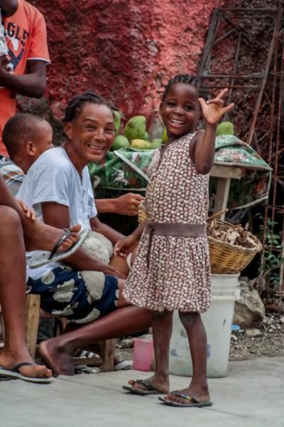 Smiles in Croix Des Bouquets, Haiti