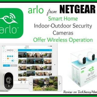 Netgear's Arlo Smart Home Security Cameras Offer Wireless Operation