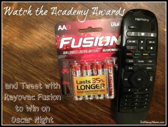 Tweet with Rayovac Fusion to Win on Oscar Night