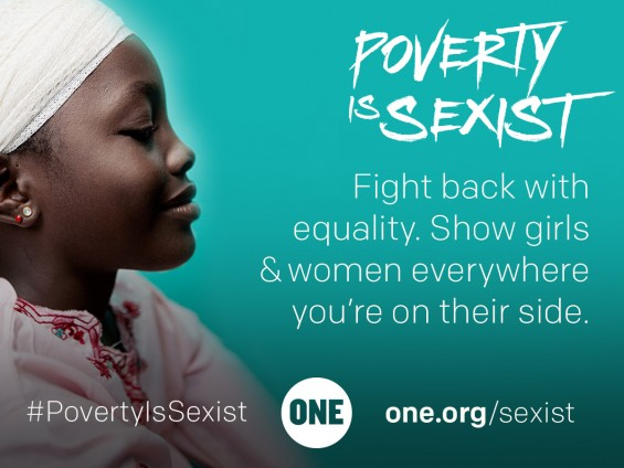 #PovertyIsSexist Call to Action