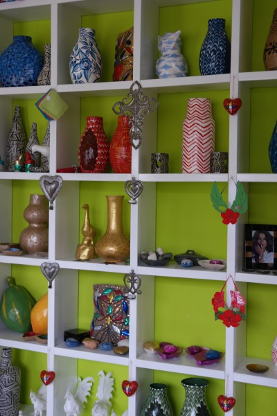 Haitian handcrafts on display at the Artisan Business Network showroom in Petionville, Port au Prince