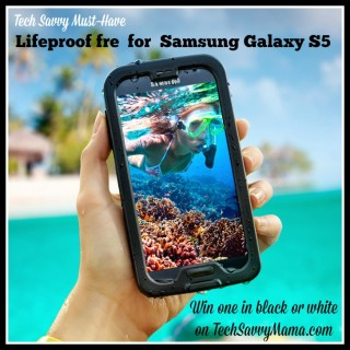 Win 1 of 8 Lifeproof fre Cases for Your Samsung Galaxy S5!