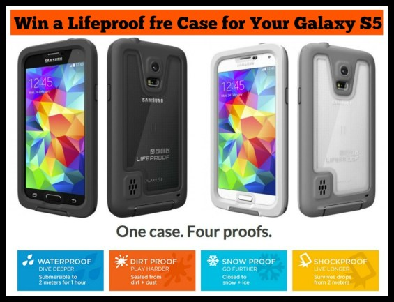 Win a Lifeproof fre Case for Your Samsung Galaxy S5