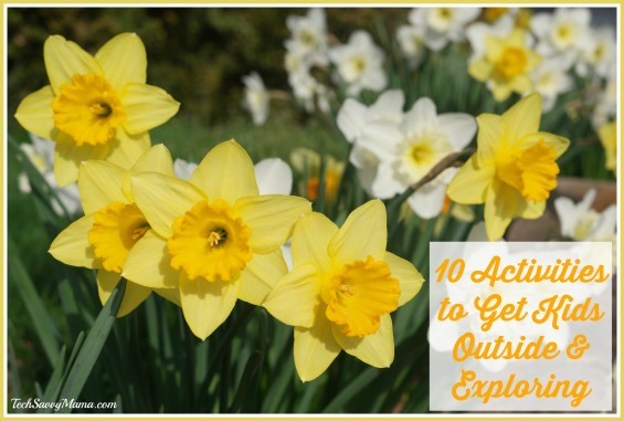 10 Activities to Get Kids Outside & Exploring