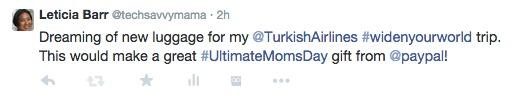#UltimateMomsDay Twitter wish