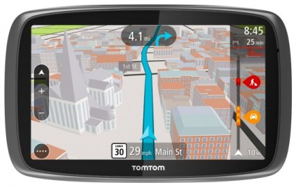 TomTom GO 500/600 with MyDrive Technology. Giveaway on TechSavvyMama.com