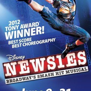 FLASH GIVEAWAY: 2 Tickets to Newsies at National Theater DC for 6/10 Show!