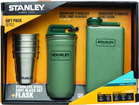Stanley Adventure Steel Shots and Flask Gift Set and 11 Other Great Father's Day Gifts on TechSavvyMama.com