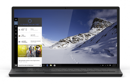 Windows 10 Cortana on your PC. A feature to look forward to when Windows 10 is released on July 29. Details on TechSavvyMama.com