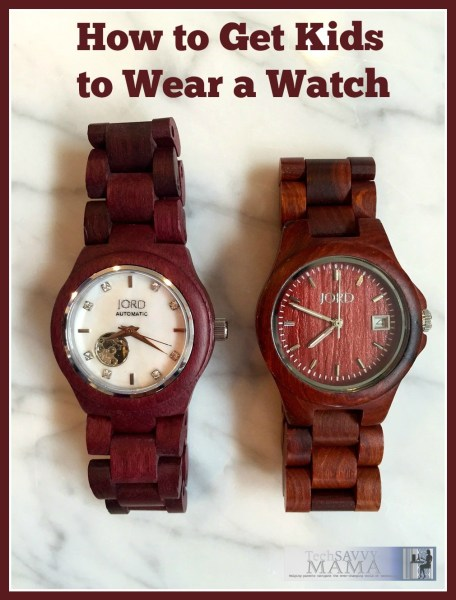 How to Get Kids to Wear a Watch