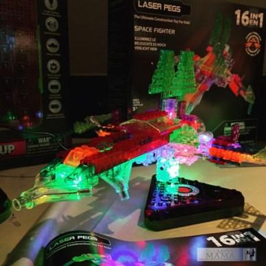 Laser Pegs at #KidzVuzBTS with a full event recap on TechSavvyMama.com