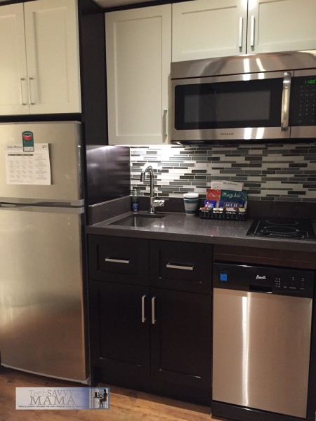 Traveling to NYC? Why Your Family Should Stay at Homewood Suites New York/Midtown Manhattan Times Square- full kitchen with complimentary grocery delivery. Full review on TechSavvyMama.com