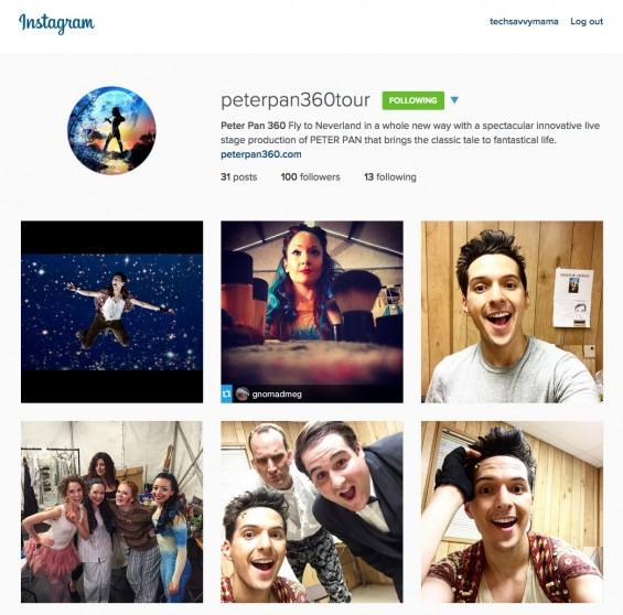 Go behind the scenes of Threesixty Theatre's production of Peter Pan through their social media channels