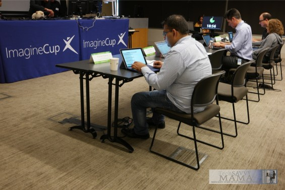 2015 Microsoft Imagine Cup Judges ©Leticia Barr 2015