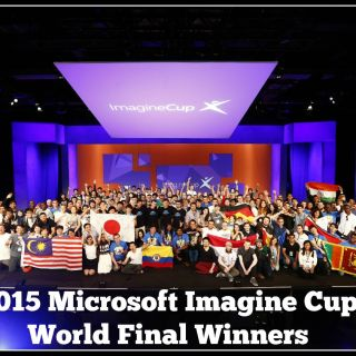 2015 Microsoft #ImagineCup World Final Winners