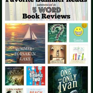 10 Favorite #SummerReading Titles Summarized in 5 Word Book Reviews