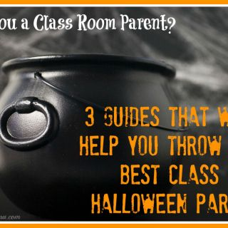 3 Guides for Class Room Parents to Help You Throw the Best Class Halloween Party Ever