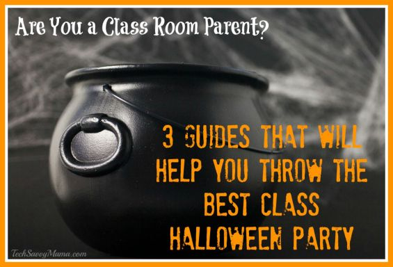 3 Guides for Class Room Parents to Help You Throw the Best Class Halloween Party