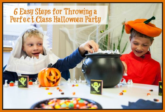 6 Easy Steps for Throwing a Perfect Class Halloween Party