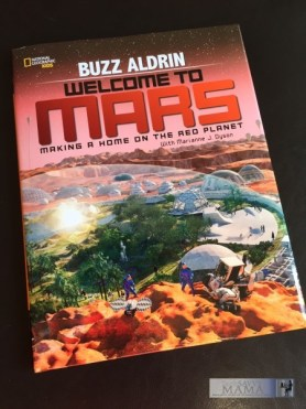Welcome to Mars Review with Interview with Buzz Aldrin on TechSavvyMama.com