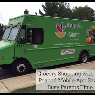 Grocery Shopping with the Peapod Mobile App Saves Busy Parents Time (w giveaway for DC readers)
