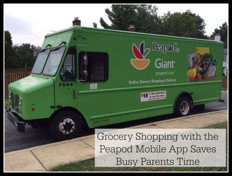 Grocery Shopping with the Peapod Mobile App Saves Busy Parents Time