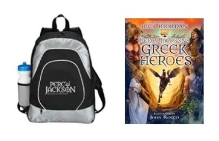 Percy Jackson Greek Gods Prize Pack