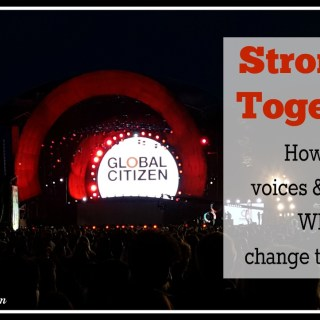 Stronger Together: How Our Voices & Actions Will Change the World