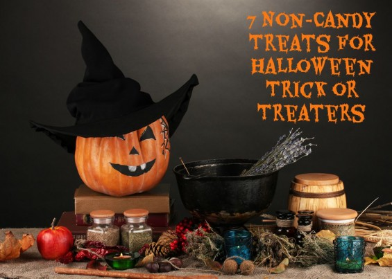 7 Non-Candy Treats for Halloween Trick or Treateres