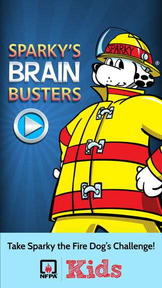 Sparky's Brain Busters App