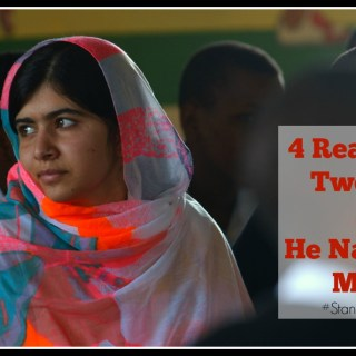 4 Reasons for Tweens to See He Named Me Malala #StandWithMalala