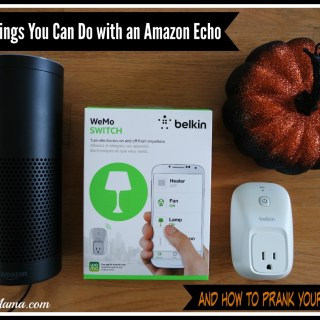 Cool Things You Can Do with an Amazon Echo