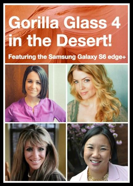 Gorilla Glass 4 in the Desert Blog Team