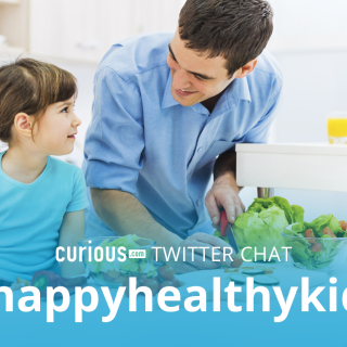 Let's Talk Healthy Kids at Curious.com's #HappyHealthyKids Twitter Chat (Tues, 10/27 8:30-9:30 pm ET)