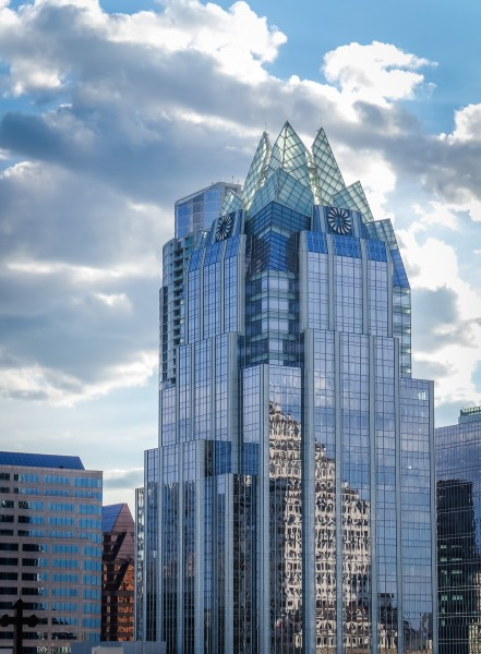 Iconic Austin Architecture- Frost Bank Building