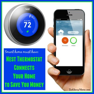 Nest Thermostat Connects Your Home to Save You Money  #BBYConnectedHome