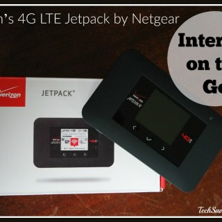 Taking Your Internet on the Go with Verizon's 4G LTE Jetpack by Netgear. Review on TechSavvyMama.com