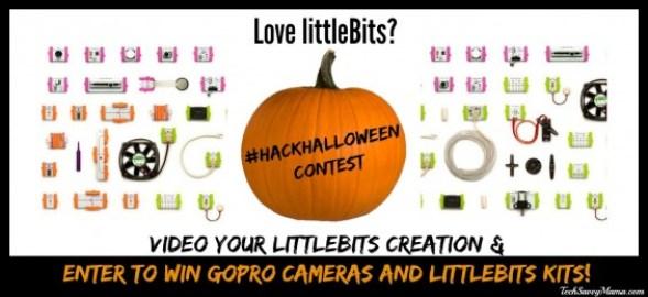 littleBits Hack Your Halloween Contest details on TechSavvyMama.com #HackHalloween