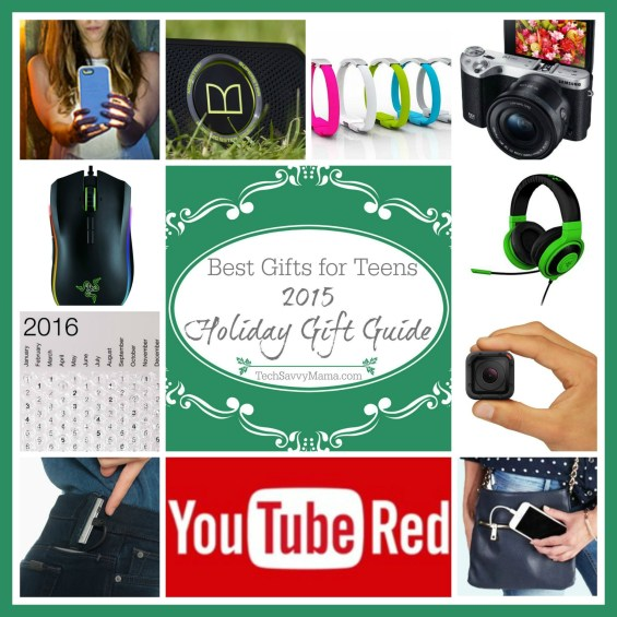 2015 Gift Guide: The Best Gifts for Teens on TechSavvyMama.com