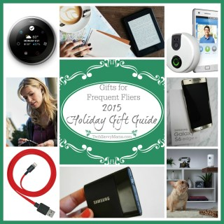 2015 Gift Guide: Best Gifts for Frequent Fliers