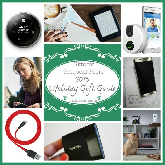2015 Gift Guide: Best Gifts for Frequent Fliers on TechSavvyMama.com
